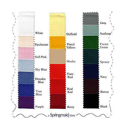 Check Out Our Color Swatches