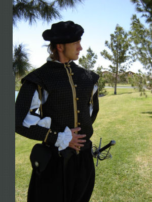 M'Lord William's Fine Doublet--Removable Sleeves